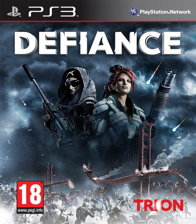 Defiance (video game) Box Art