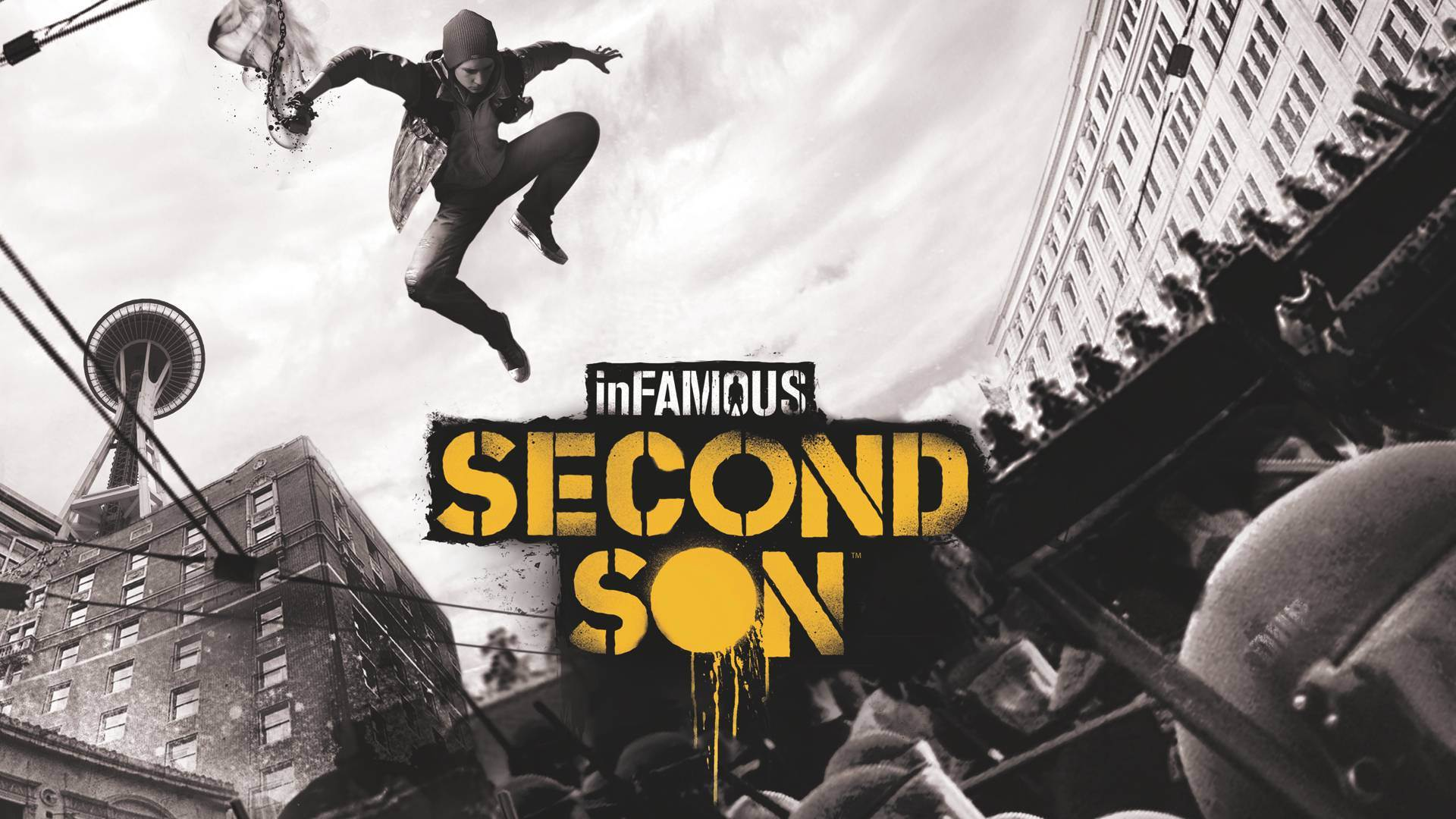 infamous second son ps4 wallpaper 1080p