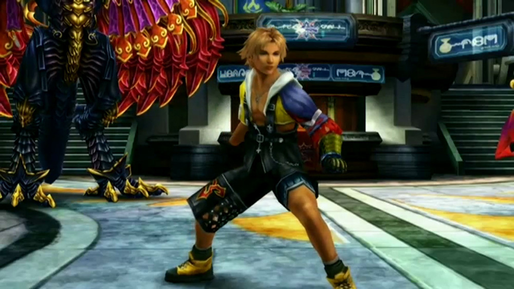 Final Fantasy X HD screens