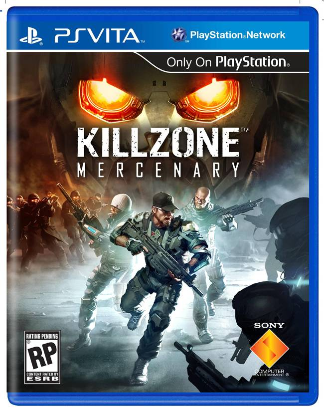 Killzone Mercenary Box Art