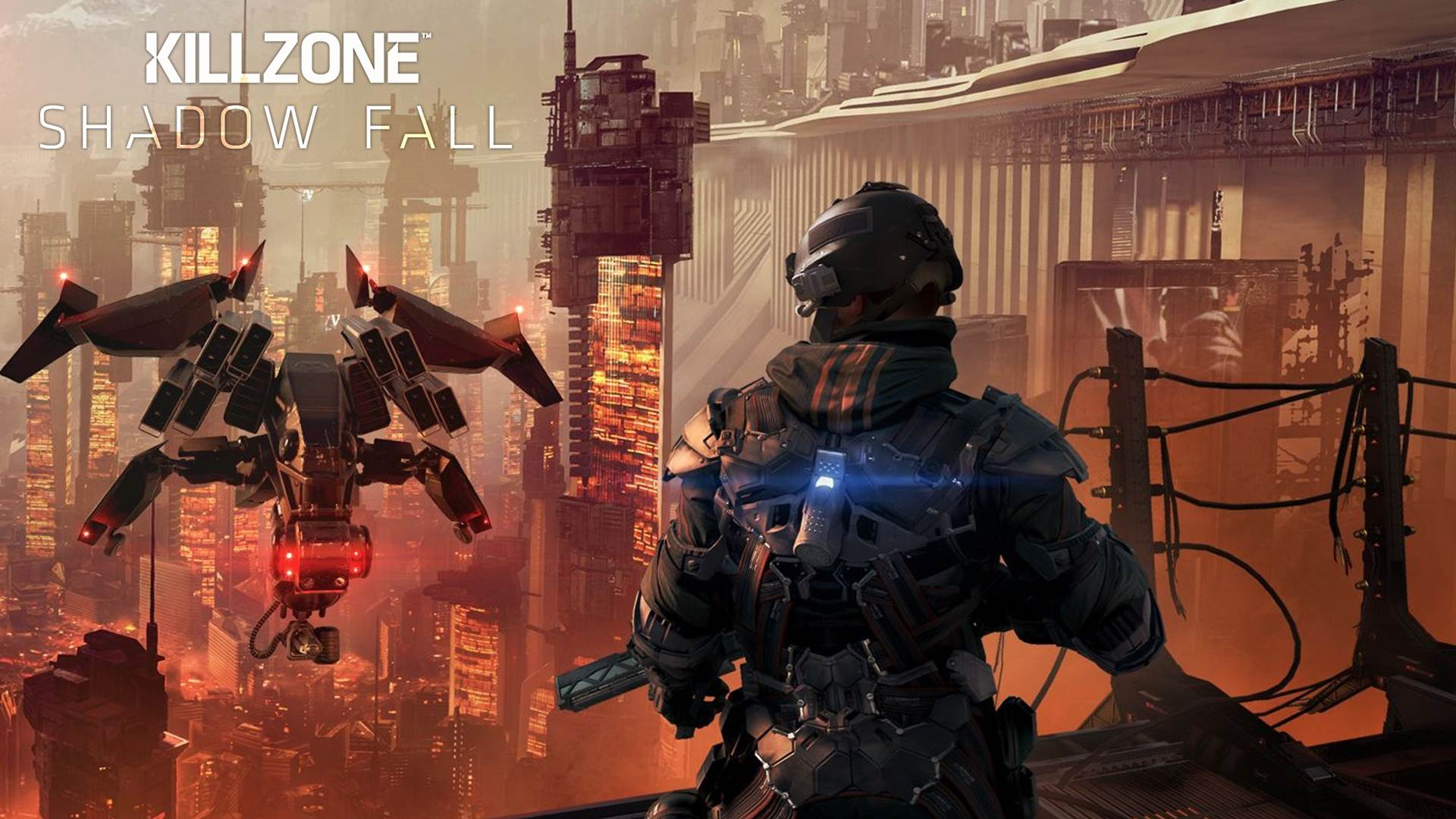 killzone shadow fall ps4 wallpaper