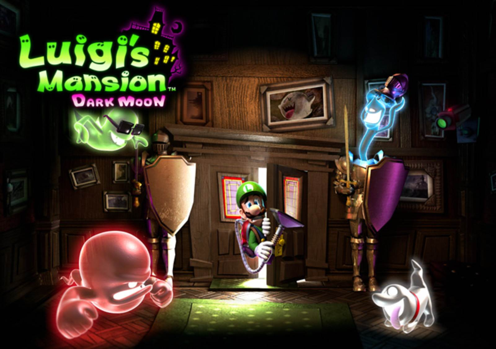 Luigis Mansion Dark Moon Wallpapers