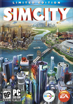 SimCity (2013) Box Art