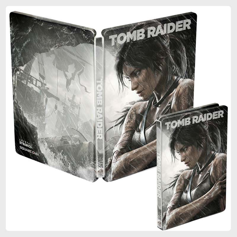 tombraider--Steelbooks