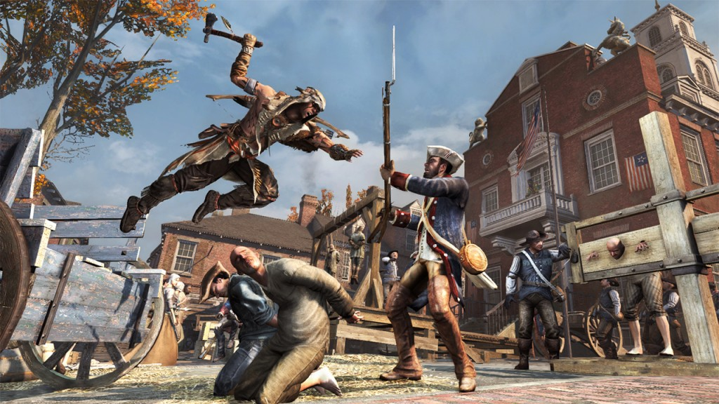 Assassin's Creed 3 The Tyranny of King Washington_The Betrayal (1)