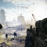 """Battlefield 4 """"Cut Fish AI For Collapsing Skyscrapers and Other Large-Scale Destruction"""""""
