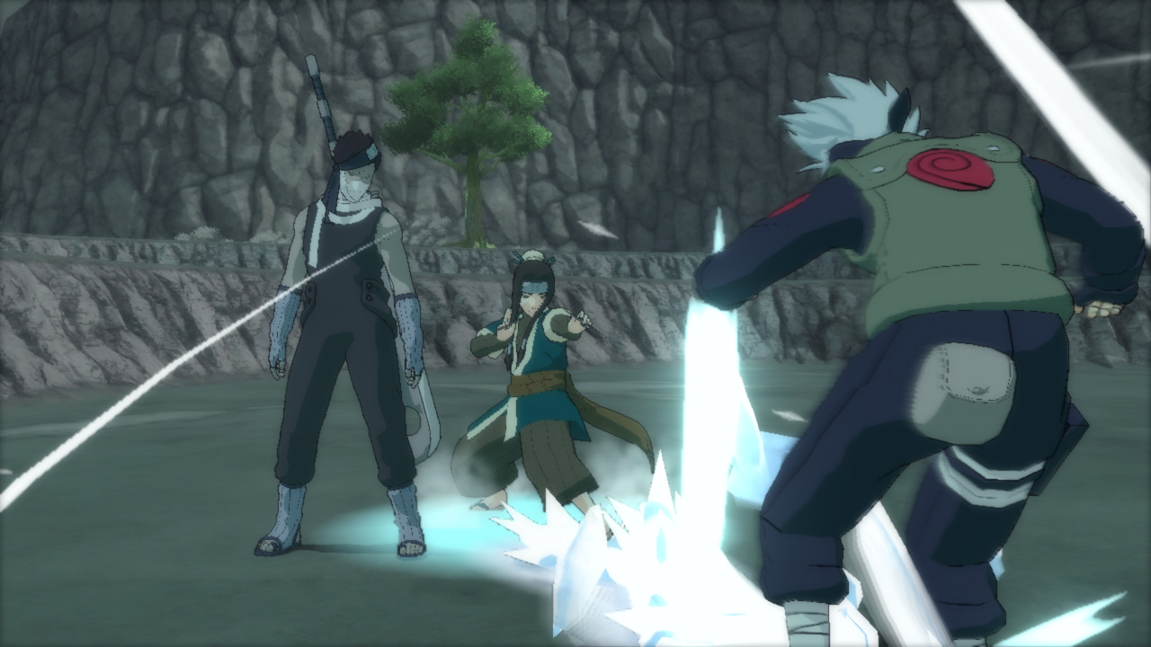 (BossBattle) Kakashi vs Zabuza (reanimated) & Haku (reanimated) 01 copy