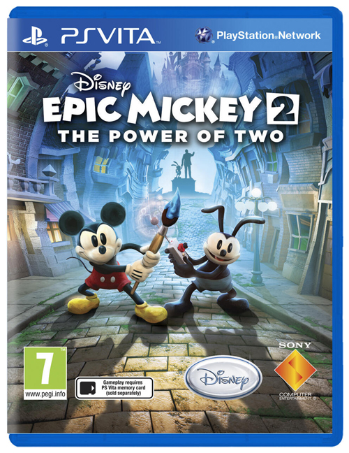 Epic Mickey 2_PS Vita_Box cover