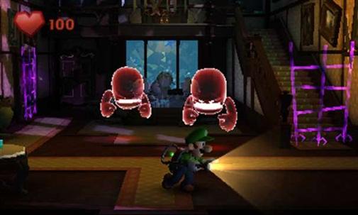 Luigis mansion 2 ghosts
