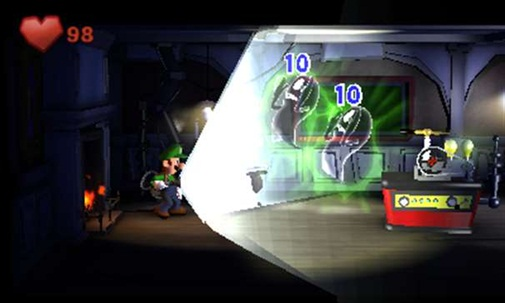 Luigis mansion 2 torch