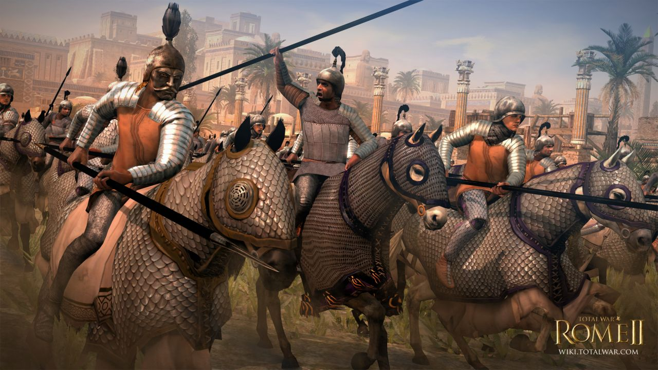 Total War Rome 2_parthia royal cataphracts
