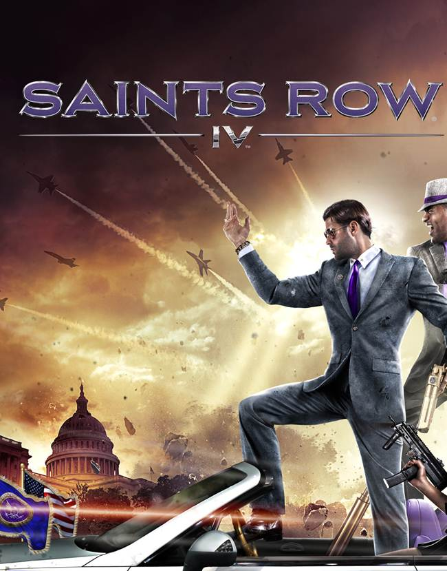 Saints Row 4 Box Art