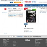 Call of Duty Ghosts-tesco ad