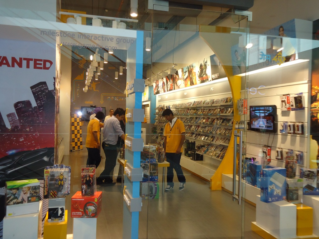 Game4u store at Elante Mall, Chandigarh