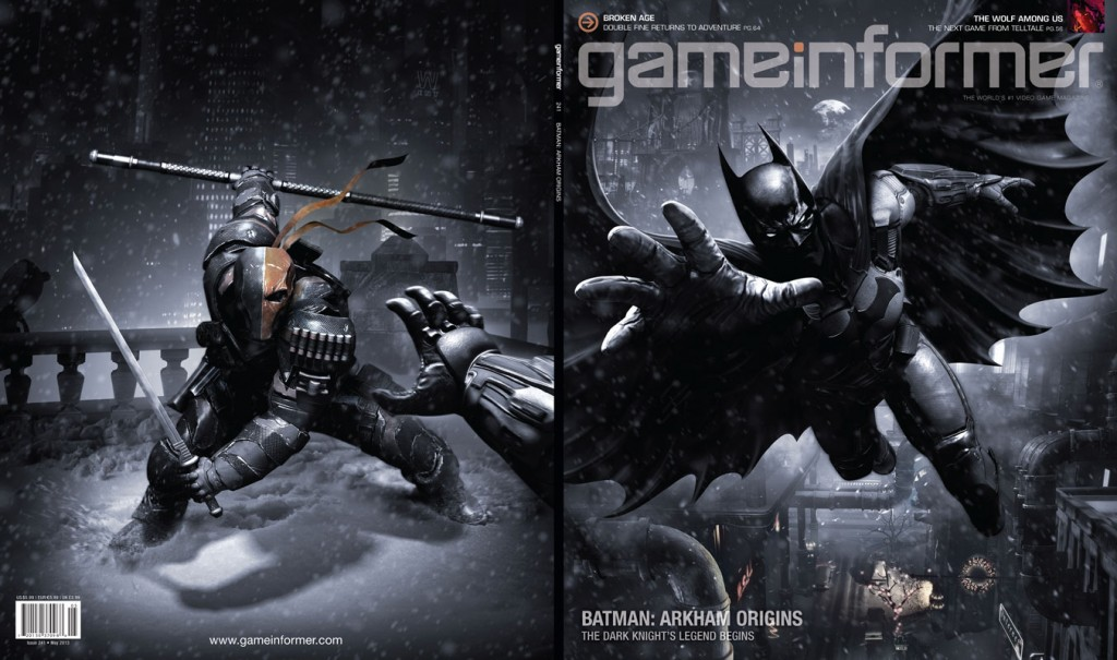batman arkham origins game informer