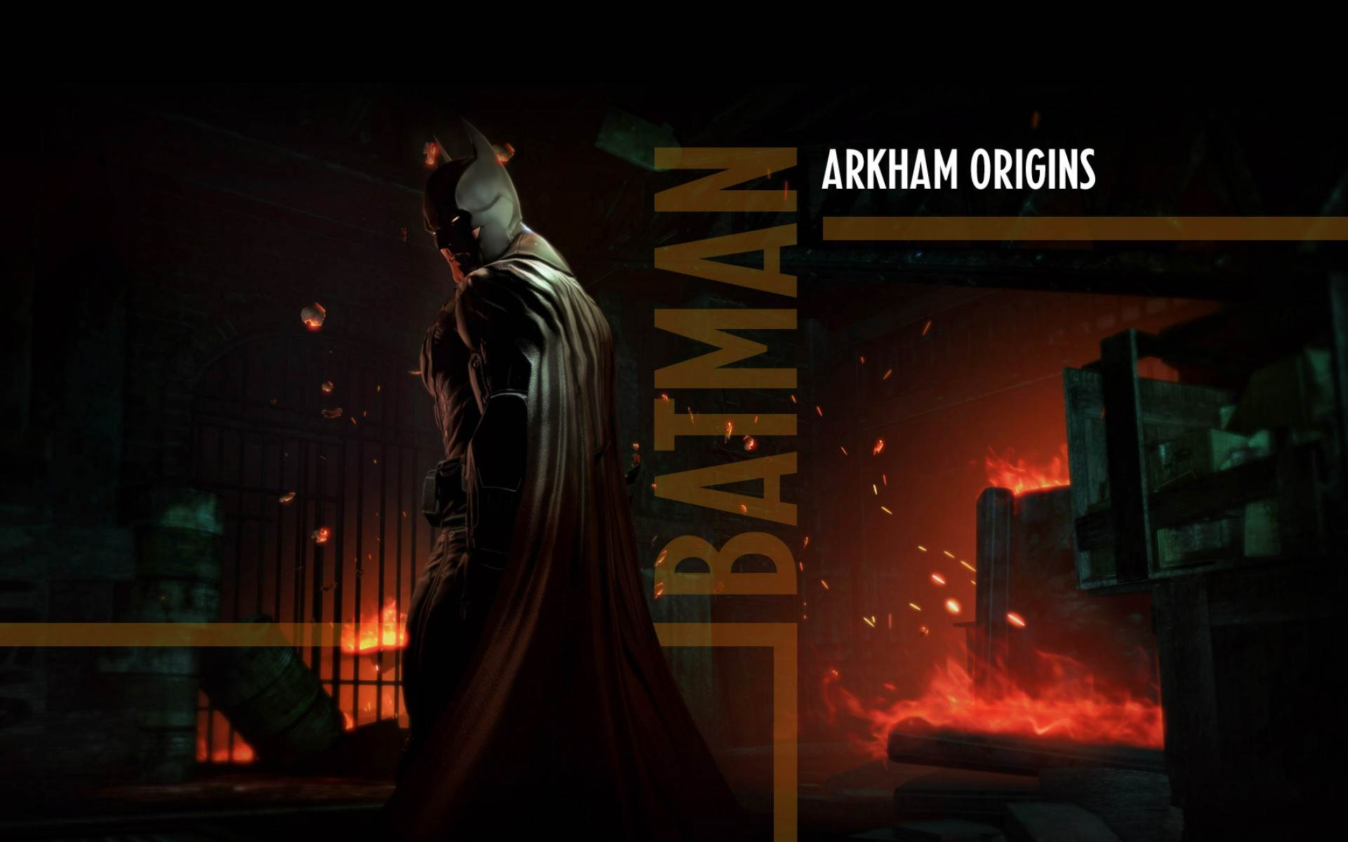 Batman Arkham Origins Wallpaper: Batman Arkham Origins Wallpaper « GamingBolt.com: Video