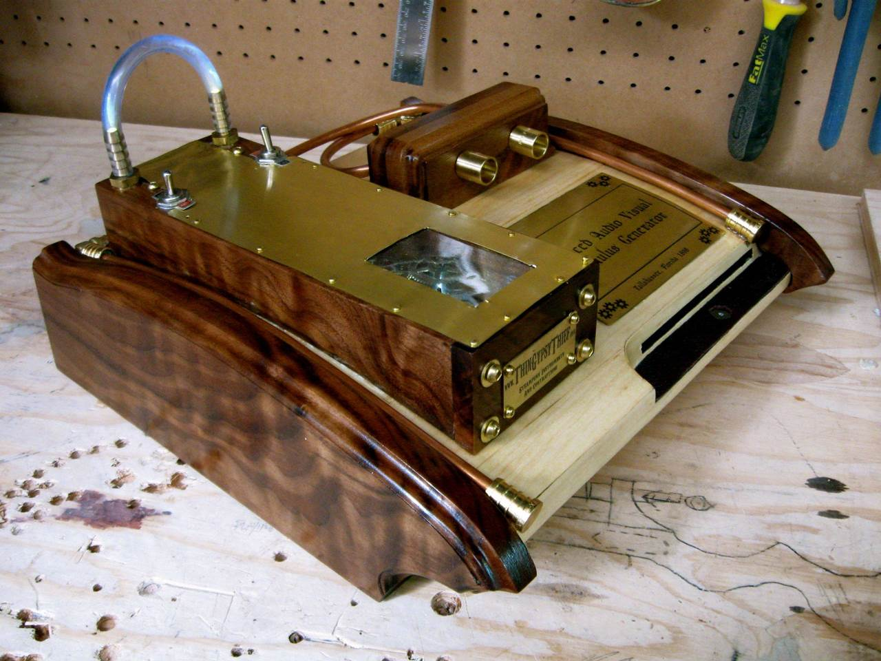 PS3, Xbox 360 and Gameboy in an awesome Steampunk case mod