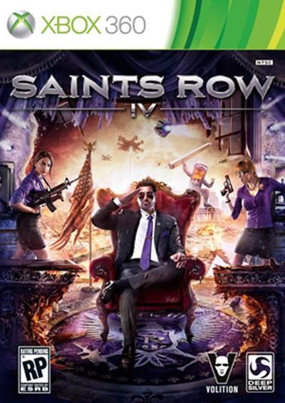 Saints Row 4 Box Art