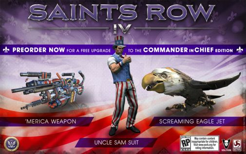 saints row IV cic edition