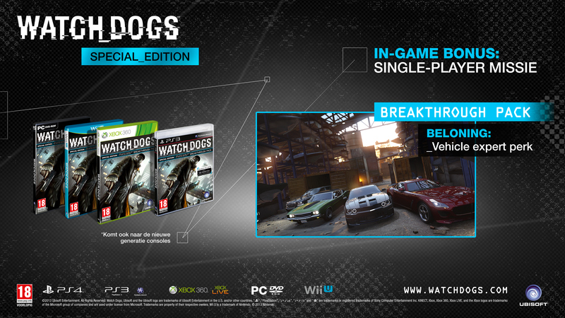 watch dogs breakthrough pack