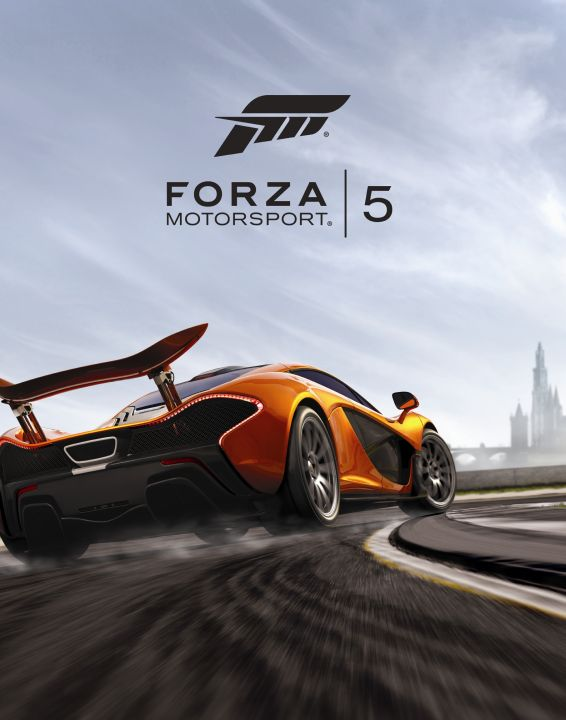 Forza Motorsport 5 Box Art