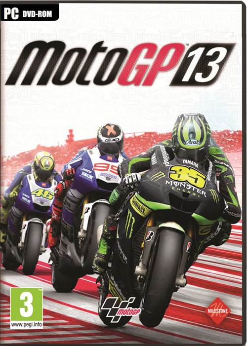 MotoGP 2013 Box Art