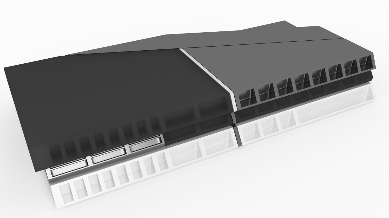 Sony PlayStation 4 concept 11 تصاویری از شکل ظاهری PS4 توسط یکی از کاربران Reddit منتشر شد
