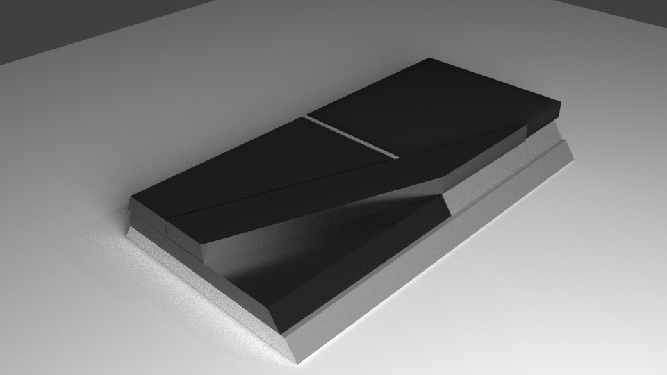 Sony PlayStation 4 concept 2 تصاویری از شکل ظاهری PS4 توسط یکی از کاربران Reddit منتشر شد