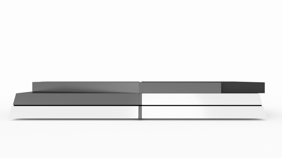 Sony PlayStation 4 concept 5 تصاویری از شکل ظاهری PS4 توسط یکی از کاربران Reddit منتشر شد
