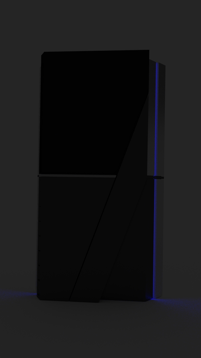 Sony PlayStation 4 concept 8 تصاویری از شکل ظاهری PS4 توسط یکی از کاربران Reddit منتشر شد
