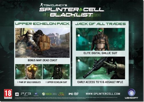 Splinter Cell Blacklist_Preorder_Jackofalltrades_UpperEchelon