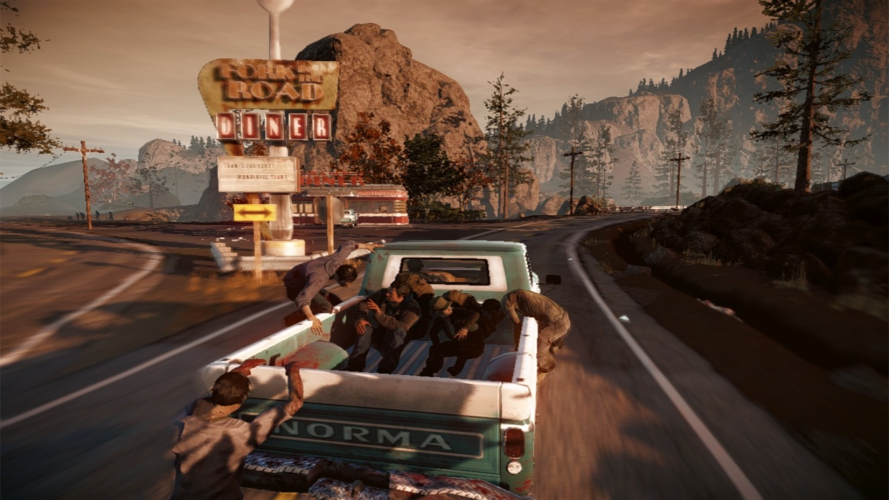 State of Decay Car