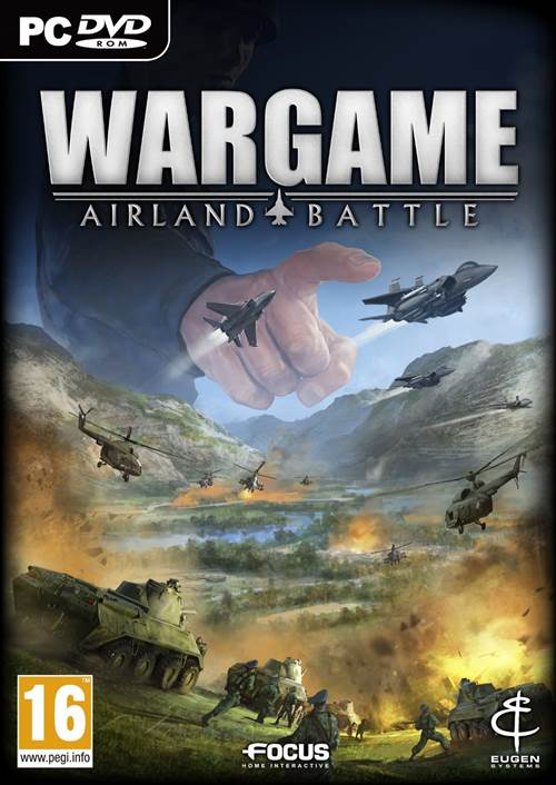Wargame AirLand Battle Box Art