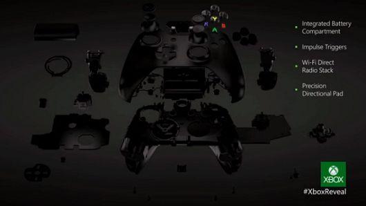 Xbox one controller specs