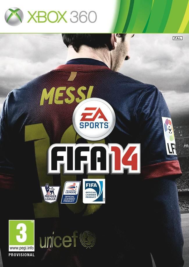 FIFA 14 Box Art