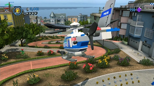 lego city undercover wii u screen 2