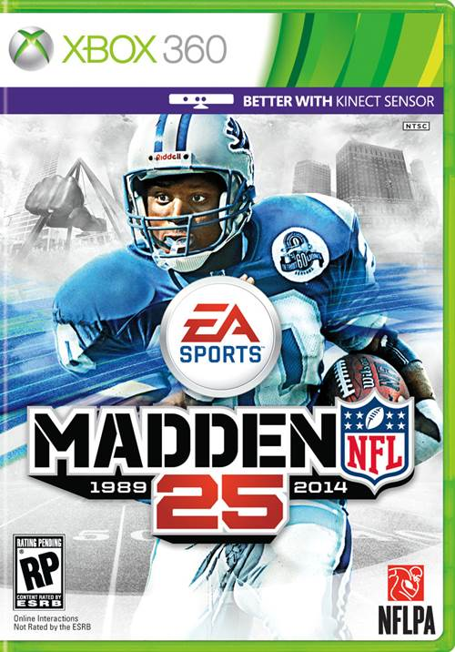 Madden NFL 25 Box Art