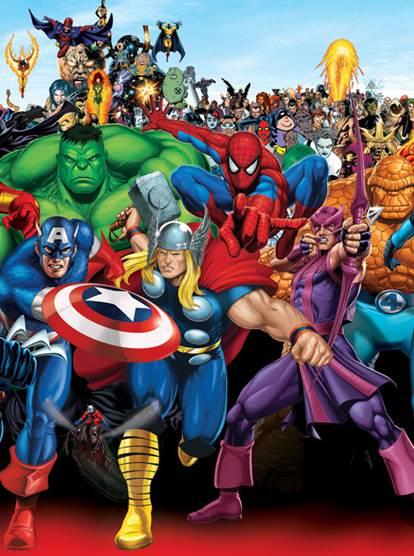 Marvel Heroes Box Art