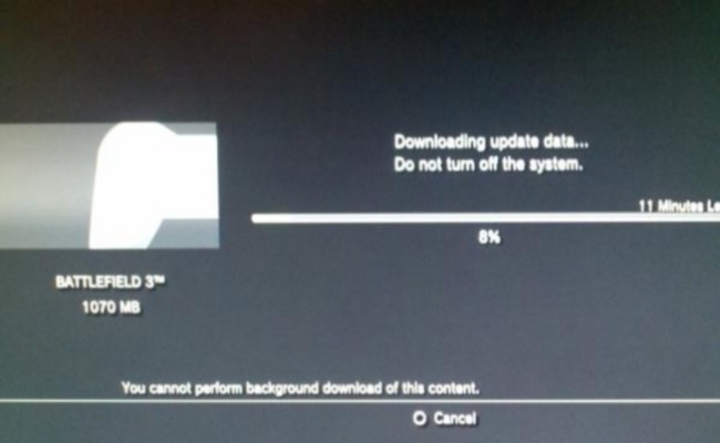 UPDATE 5 Battlefield 3 1GB PS3 Patch 1.04 is Now Live, Rent A Server Option