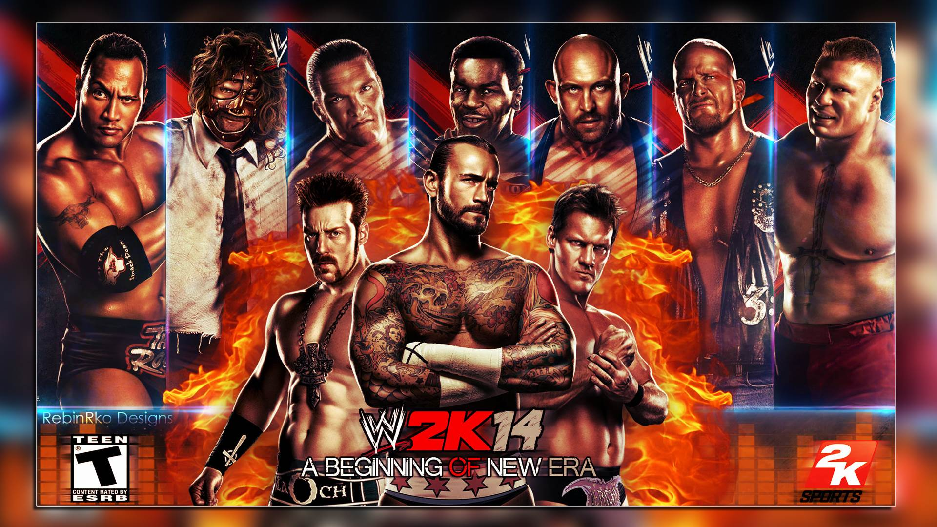 wwe 2k14 wallpaper in hd