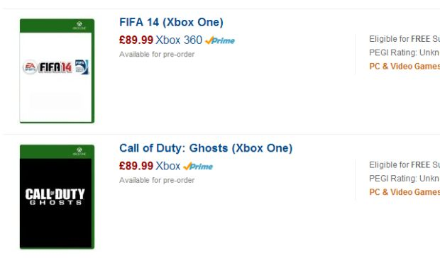 xbox one games prices amazon UK