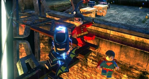 Lego Batman 2 DC Heroes Wii U 1