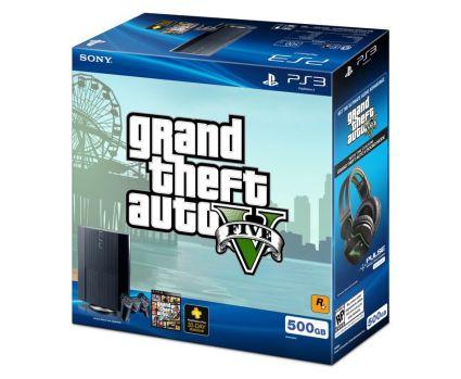 PS3 500GB Grand Theft Auto V bundle باندل جدید PS3 با طرح  GTA V رونمایی شد