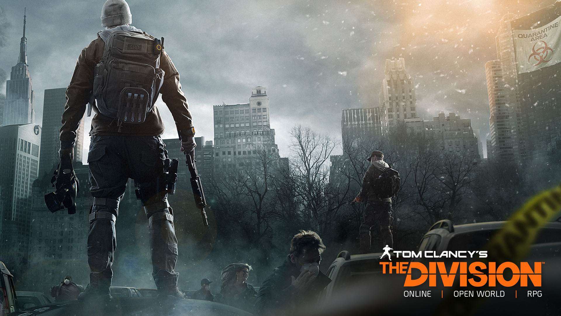 Tom Clancy Games For Ps4 : Tom clancy s the division wallpapers in p hd