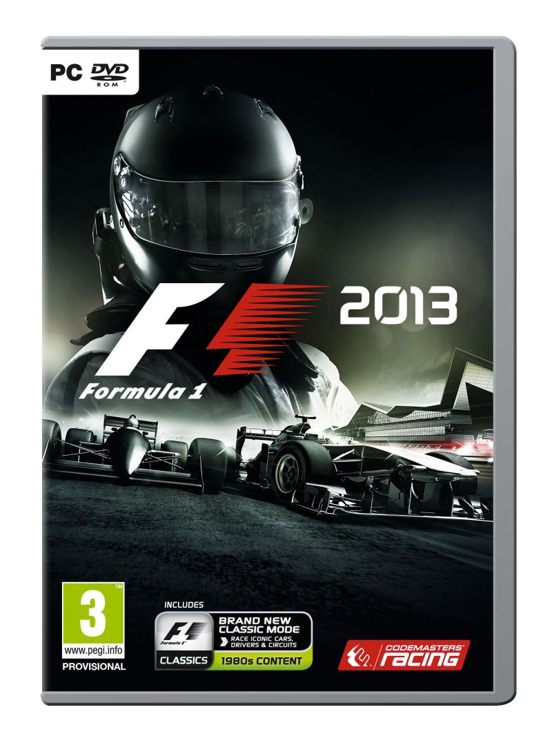 F1 2013 (video game) Box Art