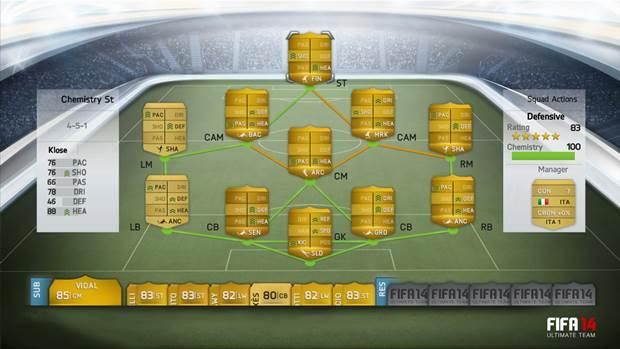 FIFA 14 ULTIMATE TEAM