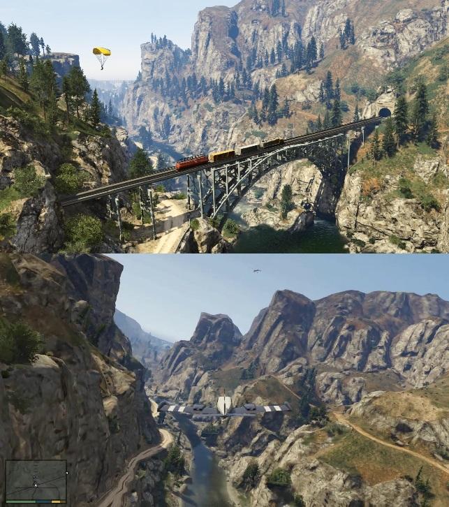 GTA 5 Comparison