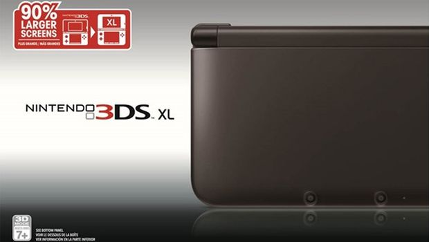 Nintendo 3DS XL_black