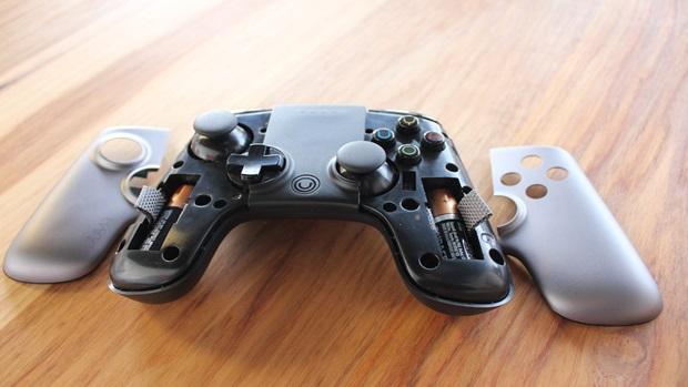 Ouya controller plate