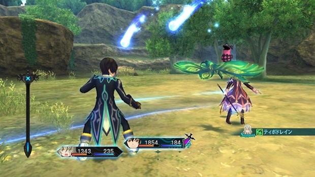 Tales of Xillia battle